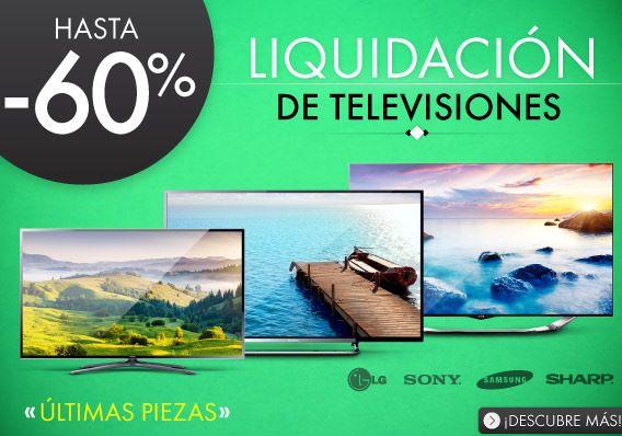 """Linio: liquidación de pantallas (ej: Sony LED 3D Smart TV 70"""" $22,949)"""