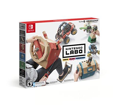 Amazon: Nintendo Labo Vehicle Kit y Robot Kit
