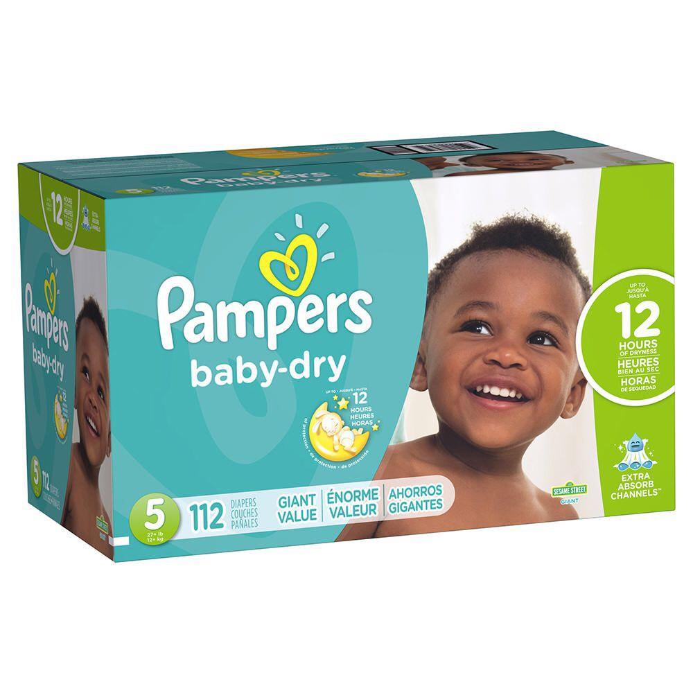 Elektra: Pañales Pampers Baby Dry Talla 5