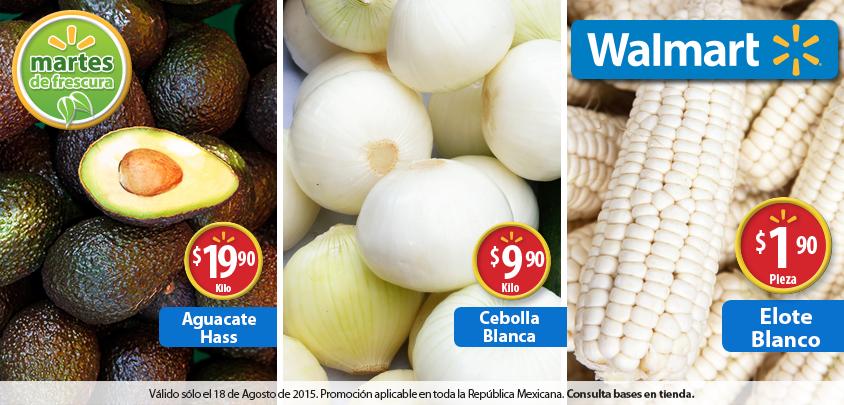 Martes de frescura en Walmart agosto 18: Elote Blanco a $1.90 la pieza y más