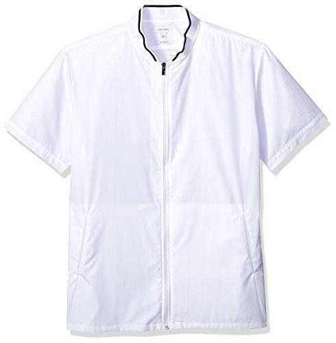 Amazon: Calvin Klein - Tipo Camisa de Manga corta para hombre con cierre frontal 2XL
