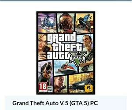 CdKeys: GTA V para Pc