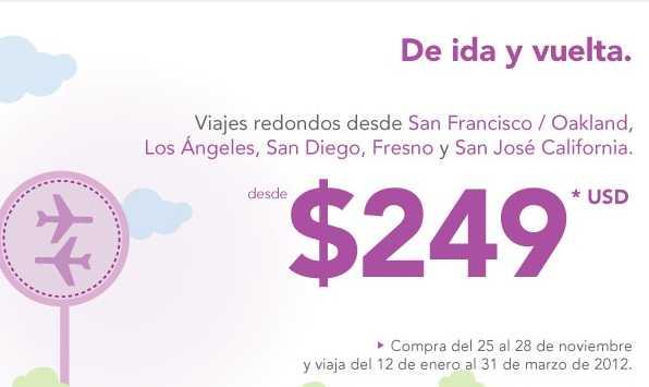 Volaris: vuelos desde $499 en México y desde $99 dólares a USA en septiembre