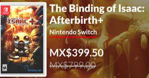 Nintendo Switch eShop: The Binding of Isaac: Afterbirth+