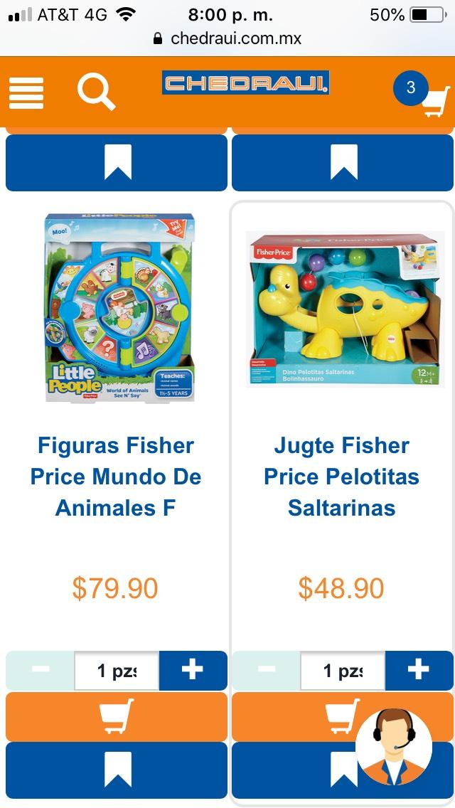 Chedraui: juguetes en rebaja en línea (ej. Set Bob el Constructor Cubeta Arena Tran a $48.90)