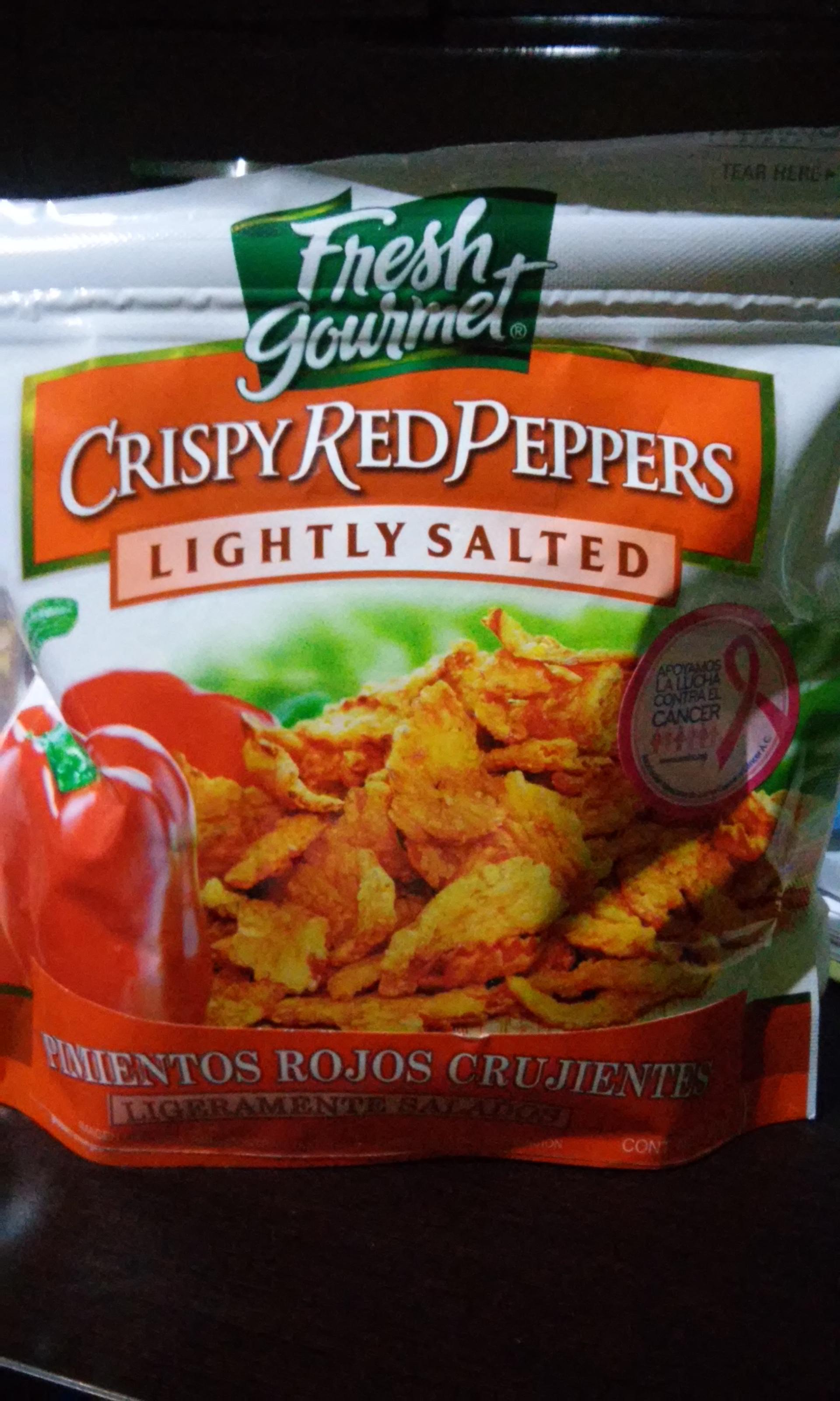 Walmart: Pimientos rojos crujientes $11.02