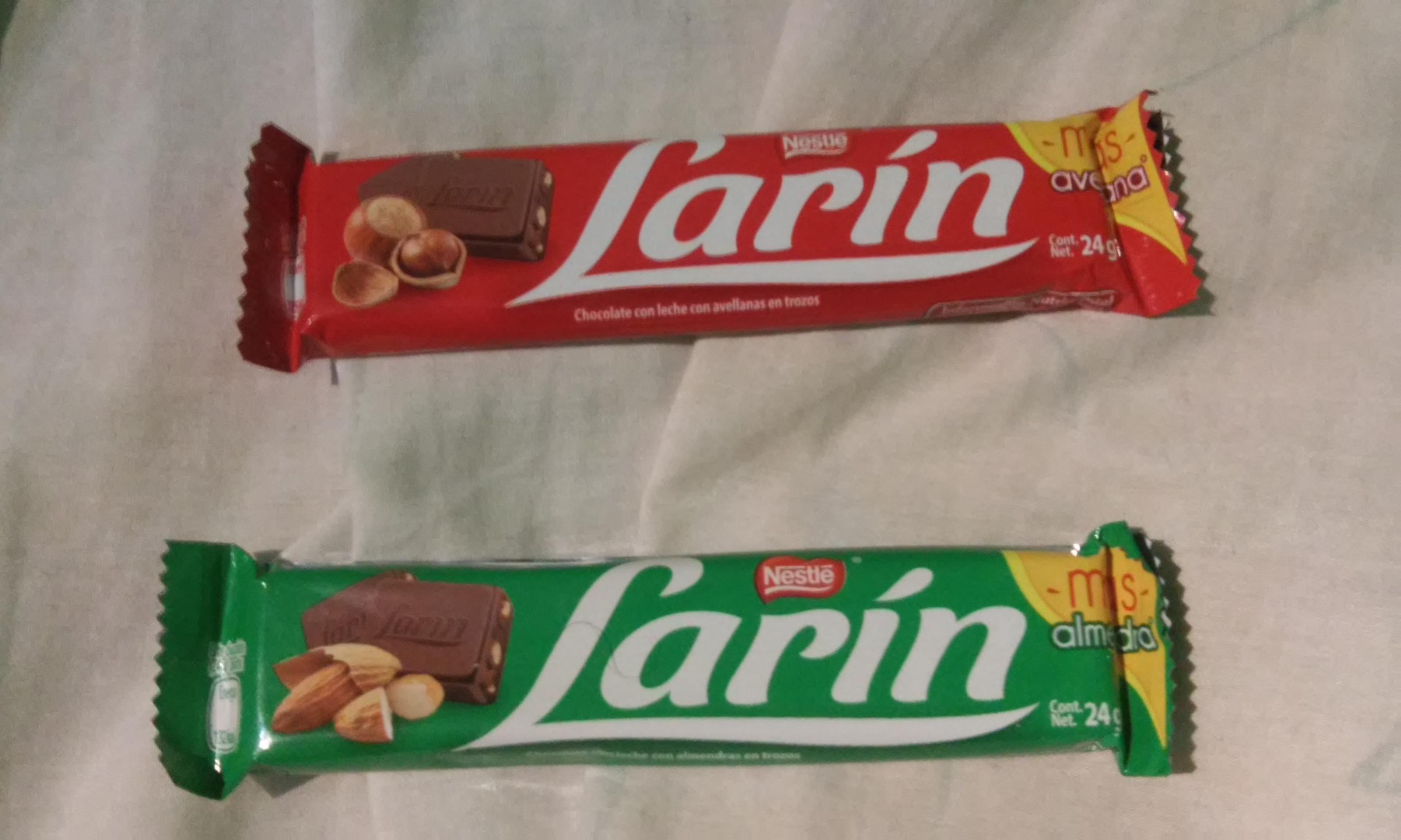 Walmart: Chocolates Larin de Almendras o Avellanas $4.02