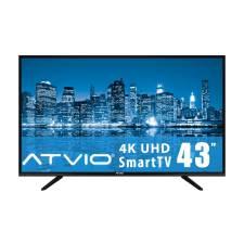 Walmart: Pantalla Atvio 43 Pulgadas 4K Smart TV con Citibanamex Pay a 12 MSI