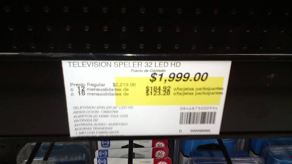 """Office Depot: Liquidacion pantallas Speler 32"""" $1,999, 40"""" $2,999"""