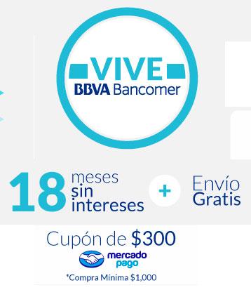 MERCADO LIBRE: Cupón de $300 + 18 msi + envío gratis