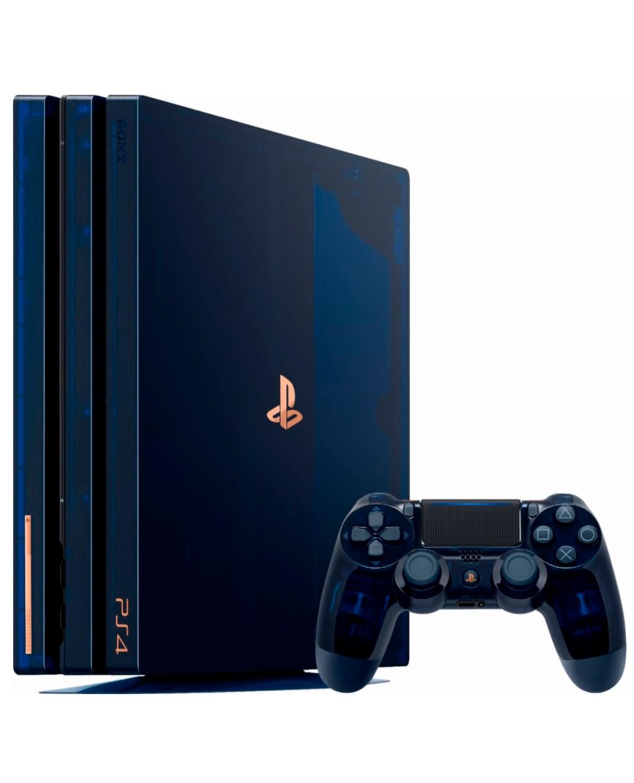 Game Planet: CONSOLA PLAYSTATION 4 PRO 2TB 500 MILLONES EDICION LIMITADA (Pagando con Paypal y Citibanamex Pay)