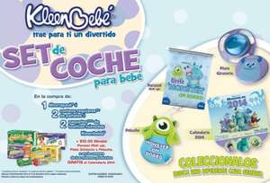 Huggies y KleenBebé: set de coche de Monsters Inc con ticket y $10