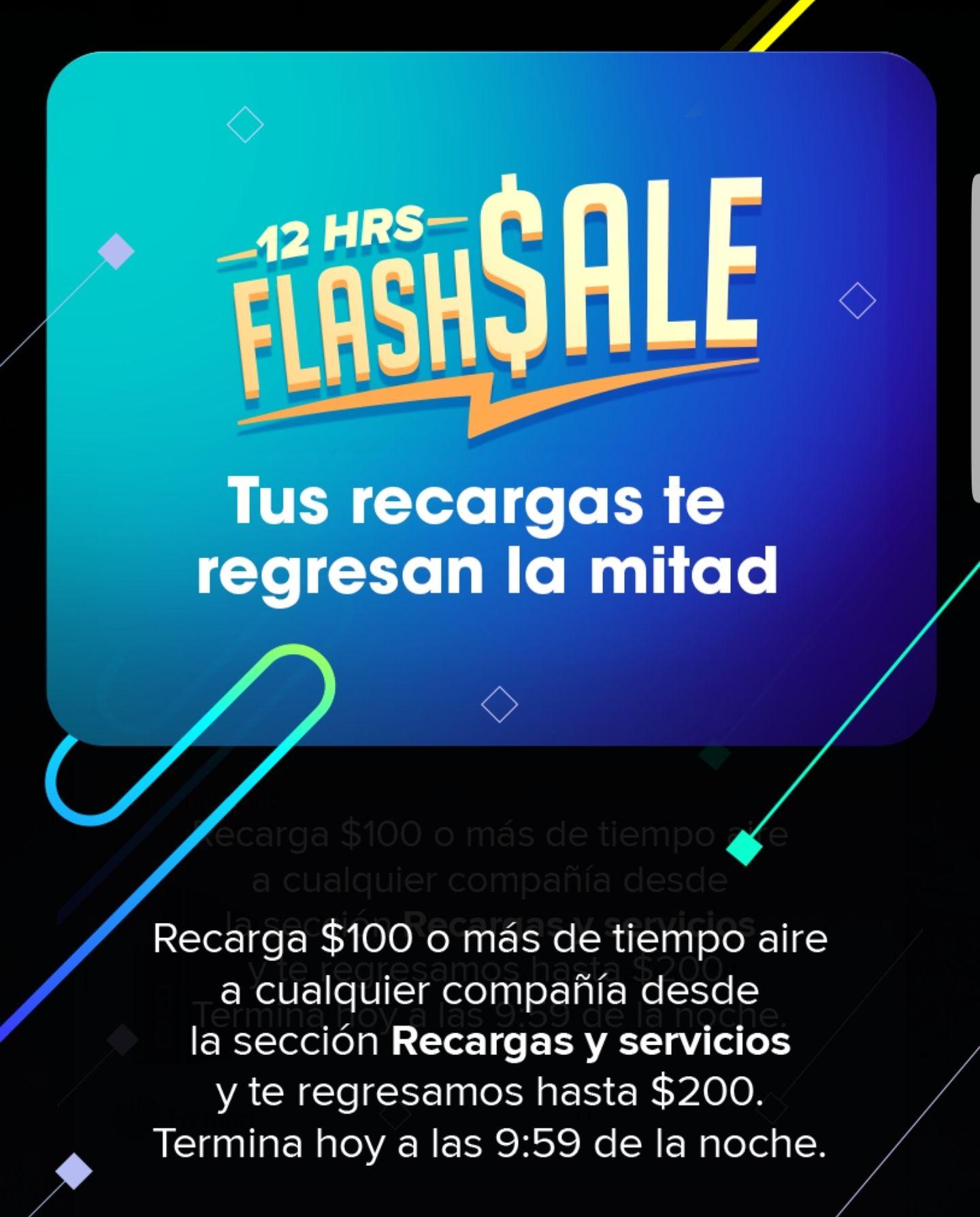 weex wallet: 50% cash back en recargas