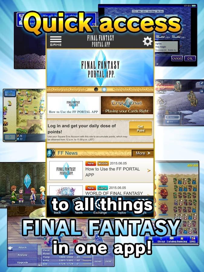 Final Fantasy gratis para iPhone y Android