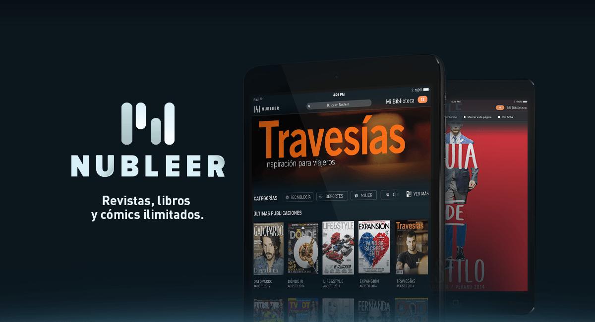 Nubleer: Acceso ilimitado a todas tus revistas favoritas por sólo $75 MXN al mes.
