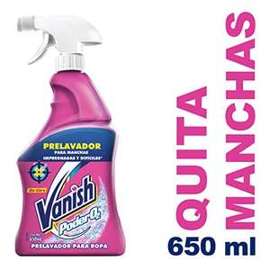 Amazon: Vanish Prelavador, 650ml