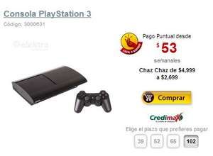 Elektra: PlayStation 3 250GB $2,699