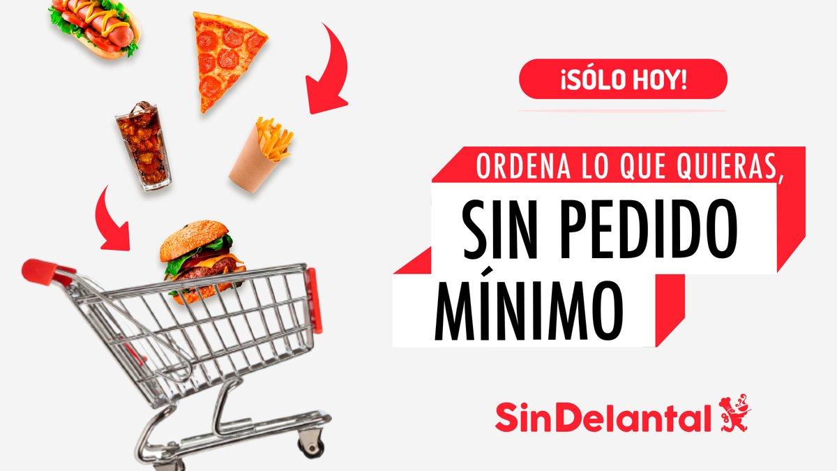 Sin Delantal: Todos los restaurantes sin pedido mínimo de compra