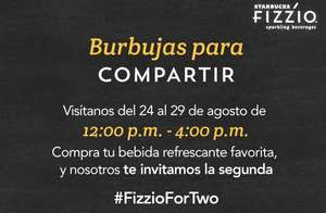 Starbucks: Happy Hour 2x1 Frizzio