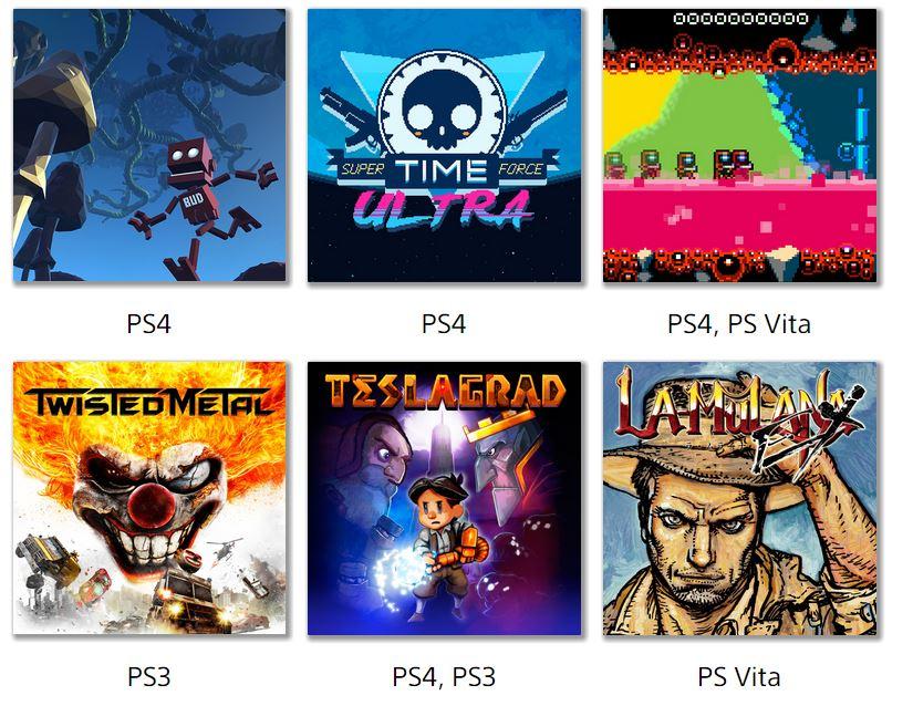 PS+: Juegos Plus de Septiembre!