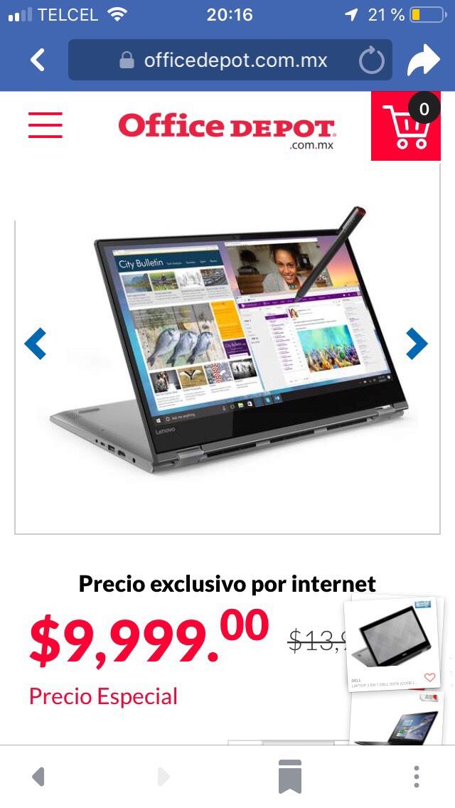 Office Depot: Lenovo Yoga 530