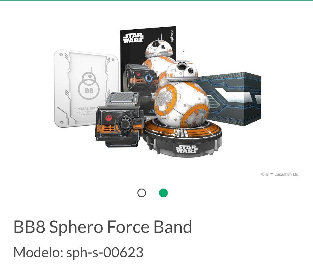 Juguetron: BB8 Sphero Force Band