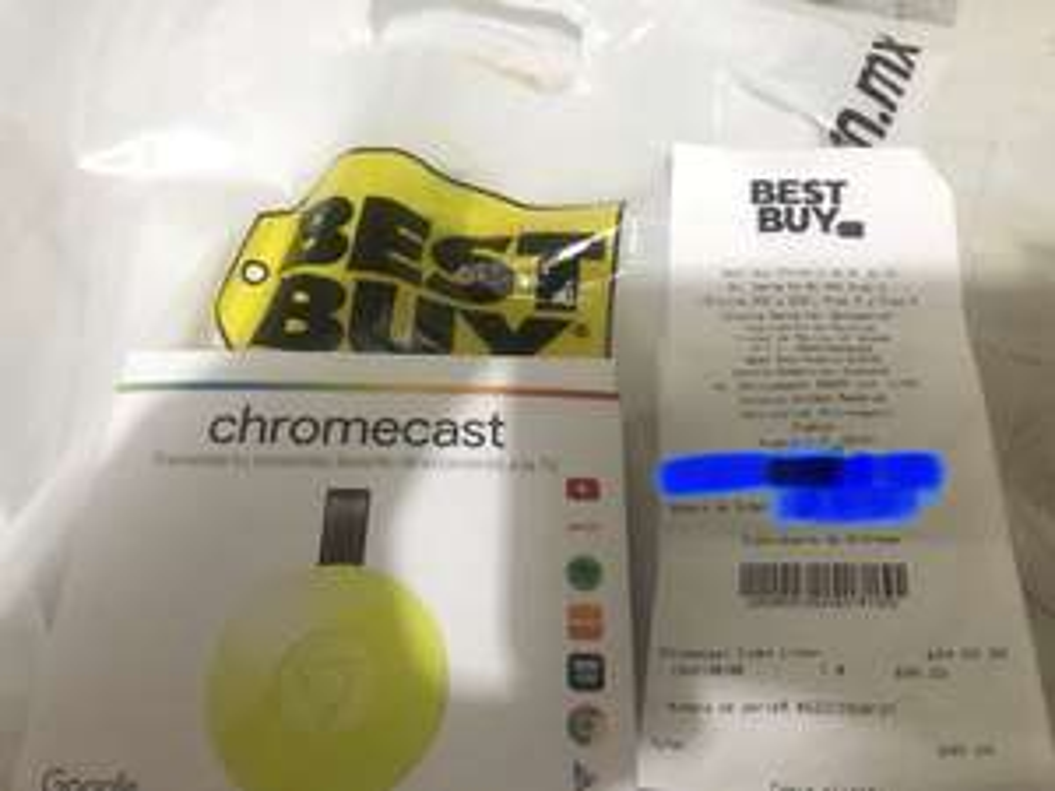 Best Buy: Chromecast de 899 a 699