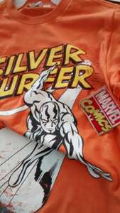 Walmart: Camiseta de Marvel Comics Silver Surfer a 10.03 (Ticket En la Descripción)