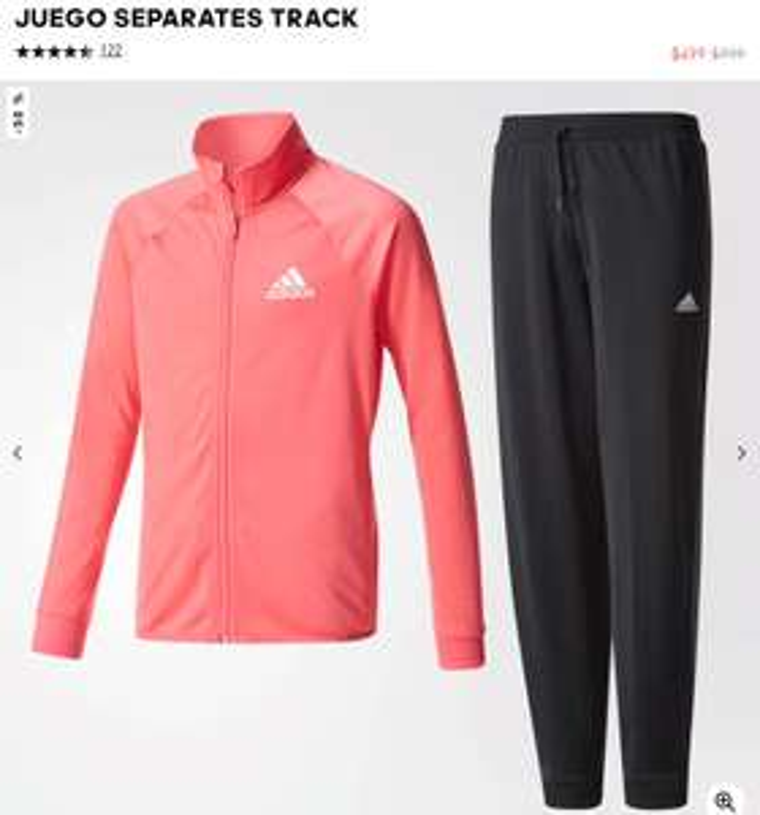 """Adidas: Conjuntos de Pants y Sudadera niña/niño/""""adolescente"""" varias tallas y colores."""