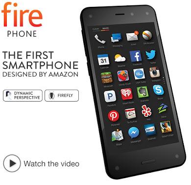 Amazon: Celular Fire Phone