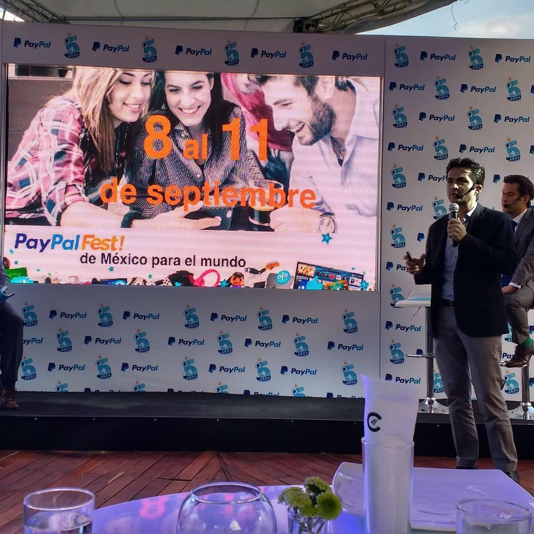 PayPalFest: ofertas por los 5 años de Paypal en México del 8 al 11 de septiembre