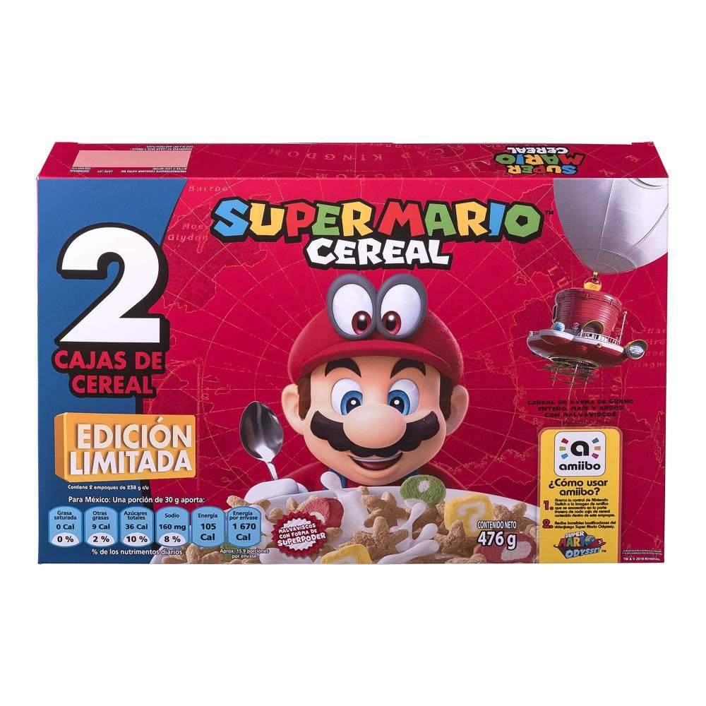 Sam's Club: Cereal Kellogg's Super Mario Edición de Colección (para que  no lo pague al doble en Mercado Libre) tienda física $111