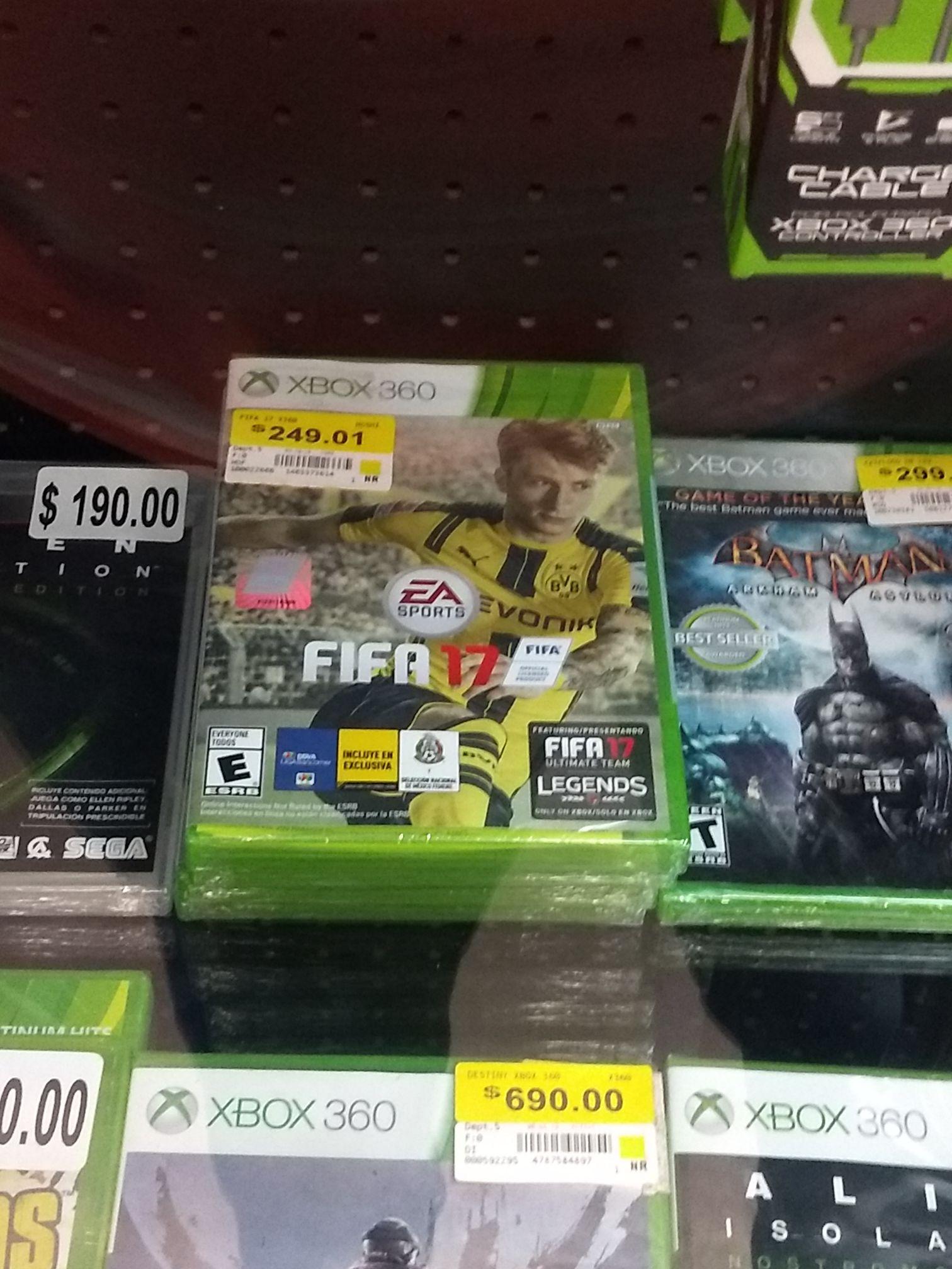 Bodega Aurrera: última liquidación de FIFA para Xbox One y 360