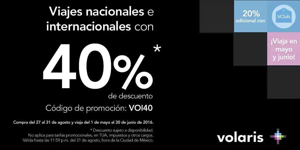Volaris: Costa rica en Mayo-Junio por poco mas de $3,000