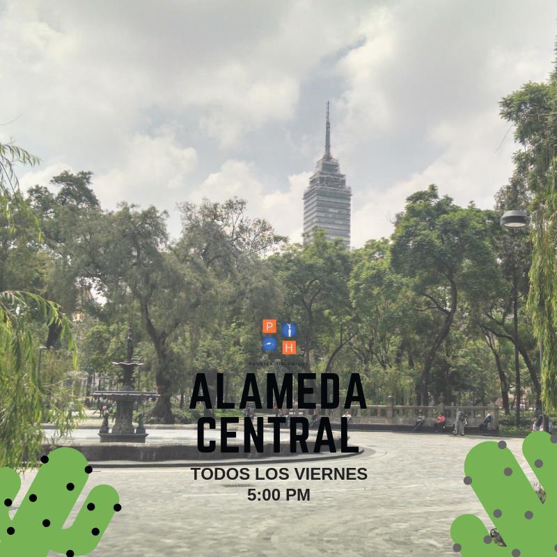 CDMX TOUR GRATUITO ALAMEDA CENTRAL