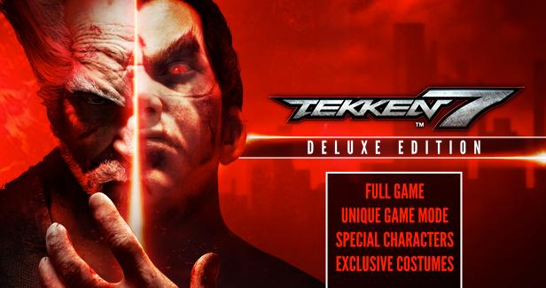 Humble Bundle: Tekken 7 Digital Deluxe Edition (steam key)
