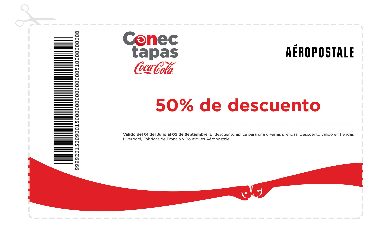 Cupón 50% de descuento en aeropostale