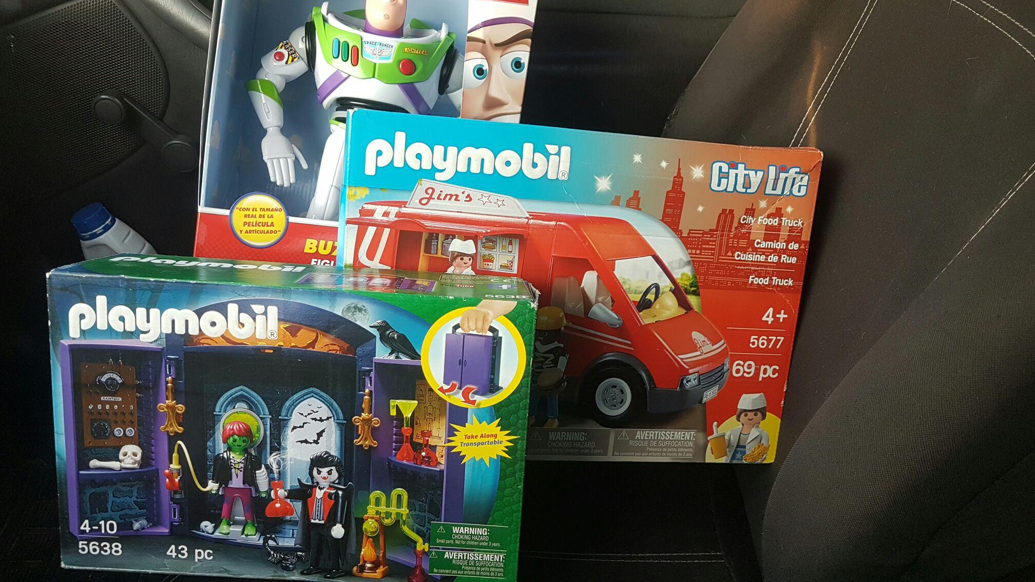Bodega Aurrerá: juguetes playmobil