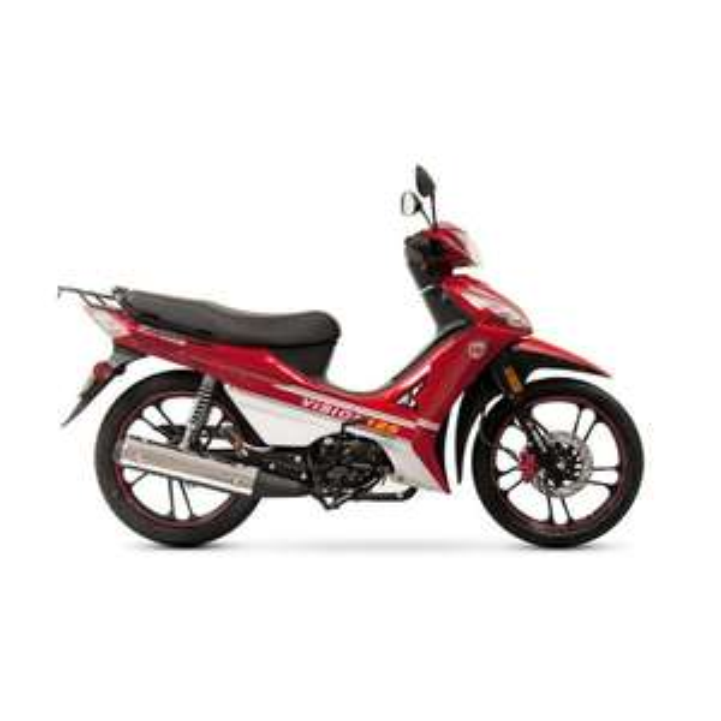 Famsa: Motocicleta Semiautomática Kurazai Vision Roja 125 cc