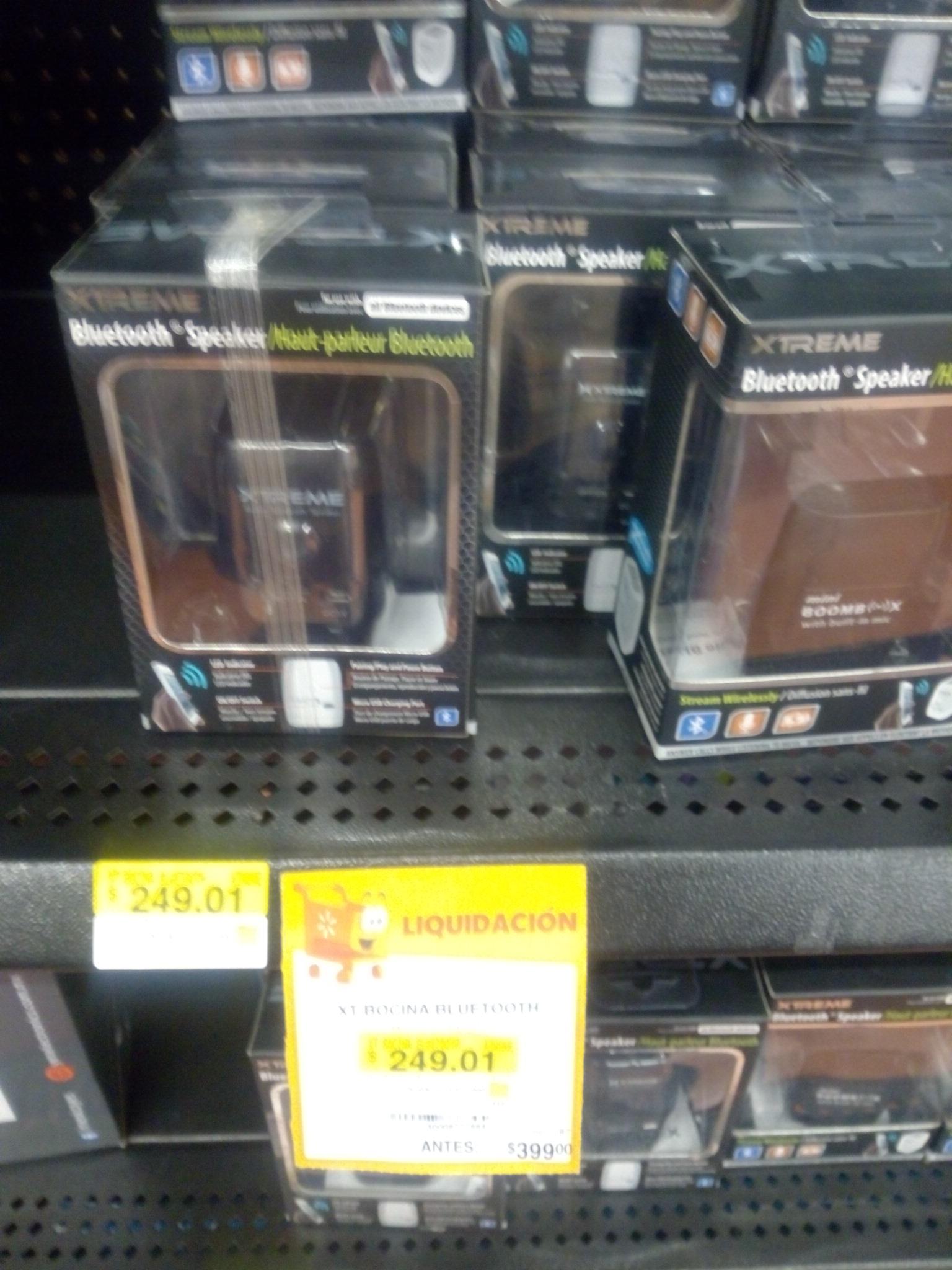 Walmart : Bocina Bluetooth Xtreme a 249.01