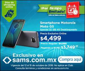 Sam's Club: MOTO G5s Plus 32 GB