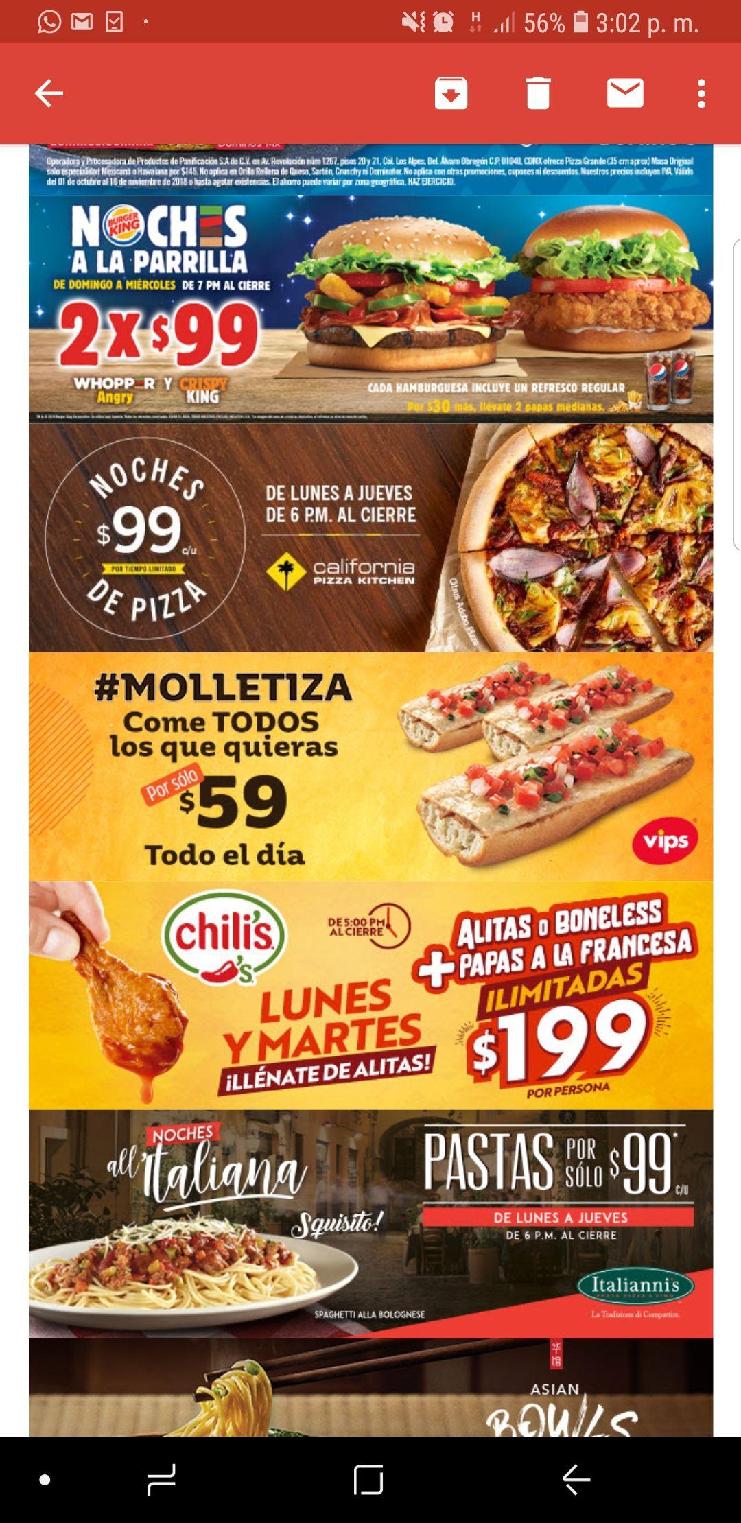 Vips: Molletiza $59 pesos a partir del 17 de Octubre