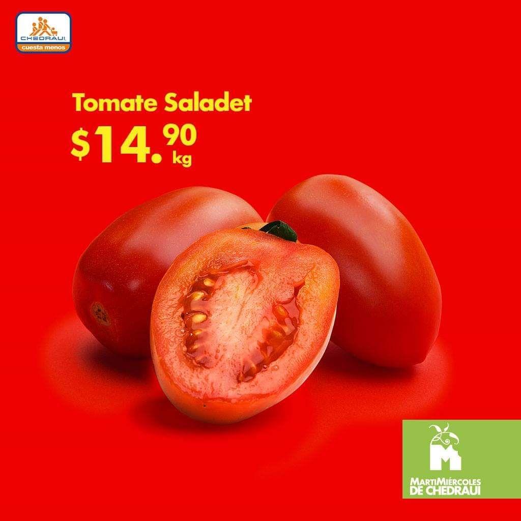 Chedraui: Martimiercoles de Frutas y Verduras 16 y 17 de Octubre