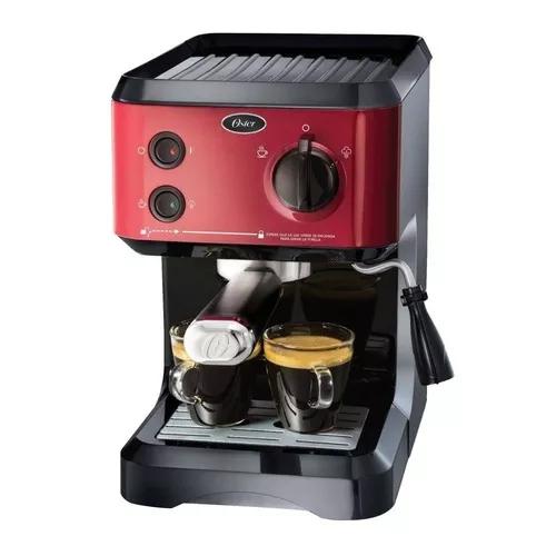 Walmart Mzo: Cafetera Oster Espresso 19 Bares Roja