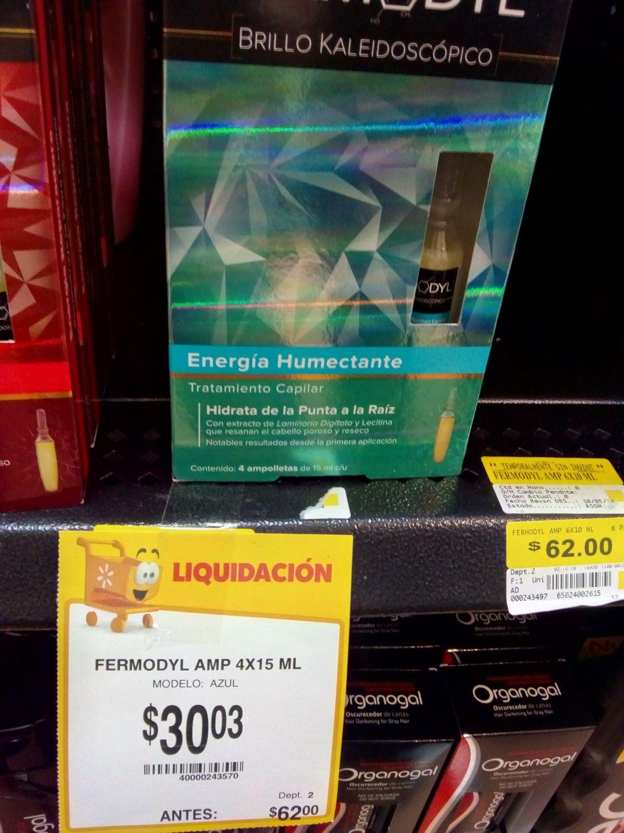 Walmart: Tratamiento capilar