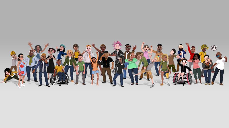 Xbox: Artículos gratis para los avatares 2.0