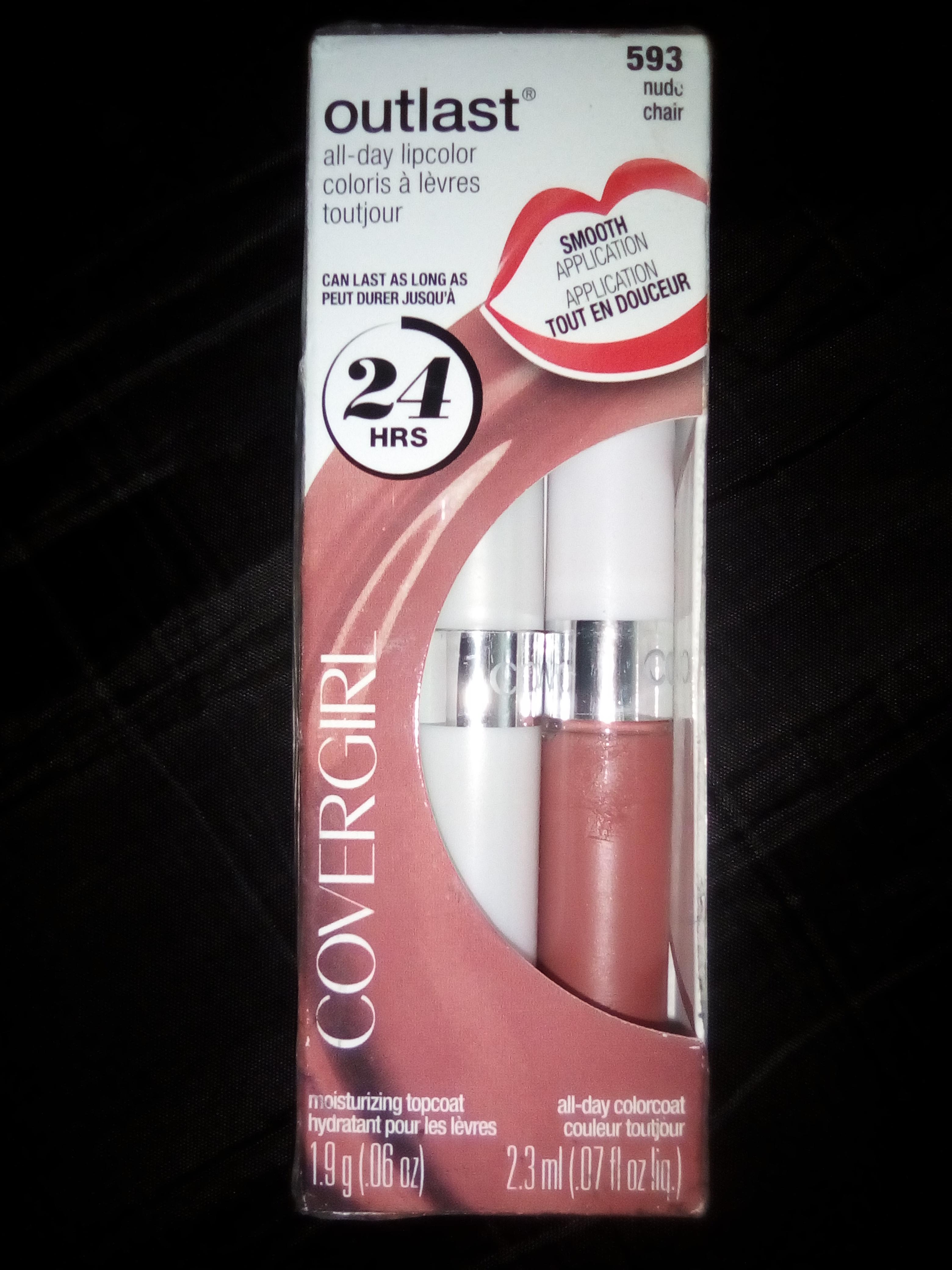 Walmart Labial CG 5 y base Revlon 20