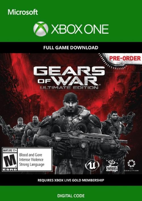 Cdkeys: Gears Of War Ultimate Edition Xbox One