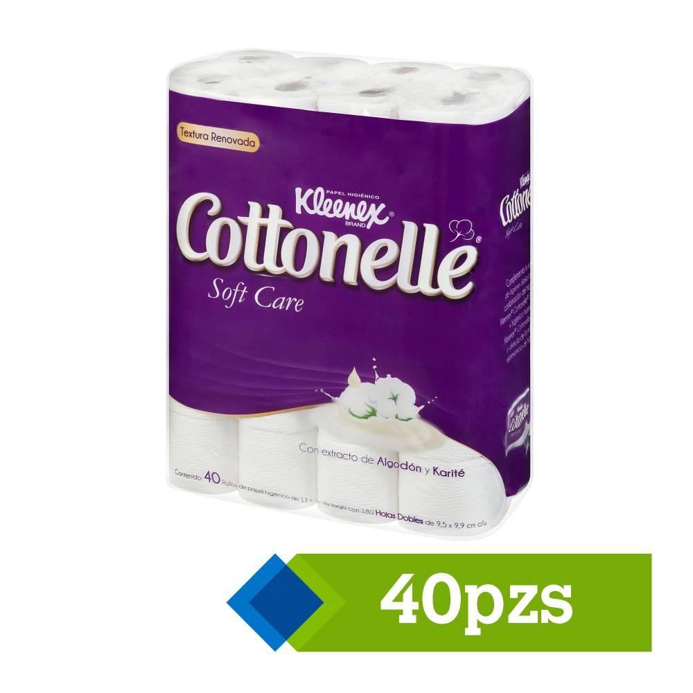 Sam's Club: 2 paquetes de 40 rollos Kleenex Cottonelle Soft Care por $299