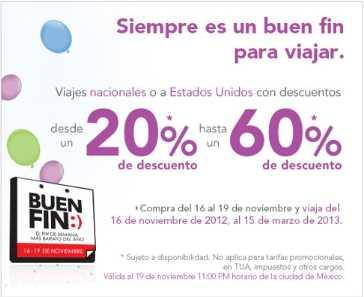Promoción del Buen Fin 2013 en Volaris
